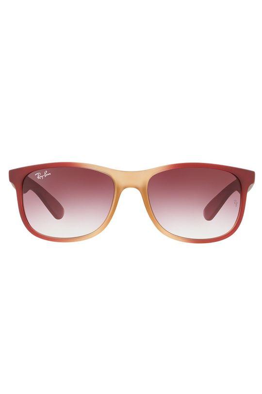 Ray-Ban - Okulary czerwony