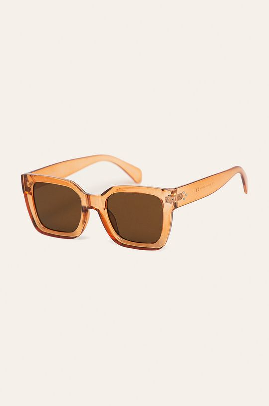 portocaliu Pieces - Ochelari de soare De femei
