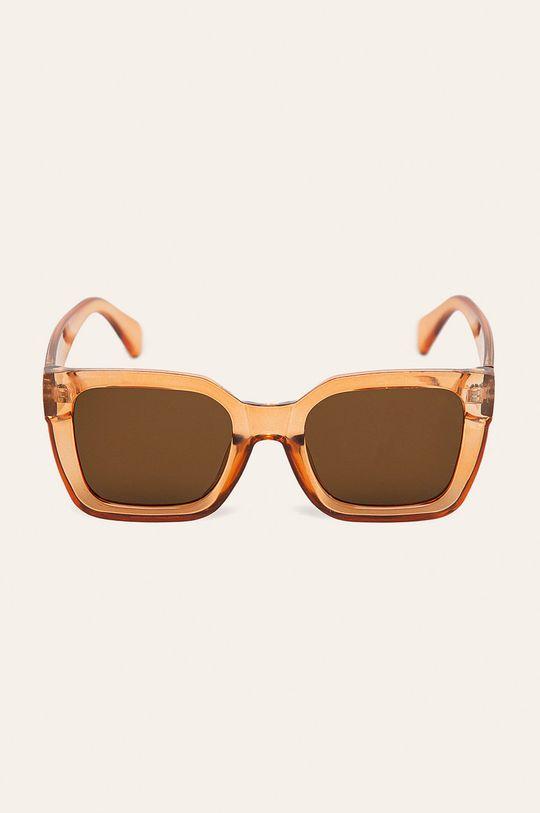 Pieces - Ochelari de soare portocaliu