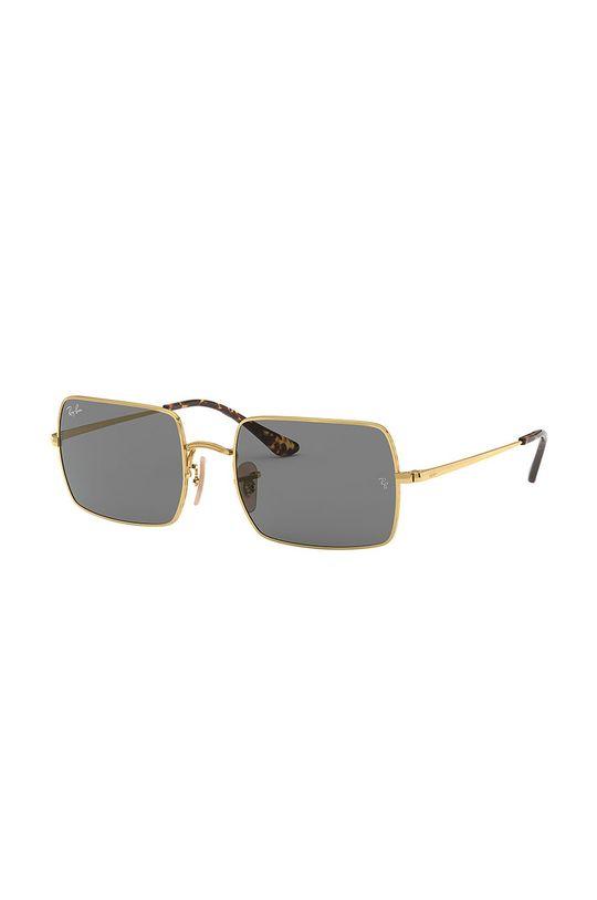 złoty Ray-Ban - Okulary RECTANGLE Damski