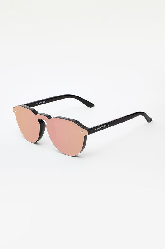 koralowy Hawkers - Okulary ROSE GOLD WARWICK HYBRID Damski