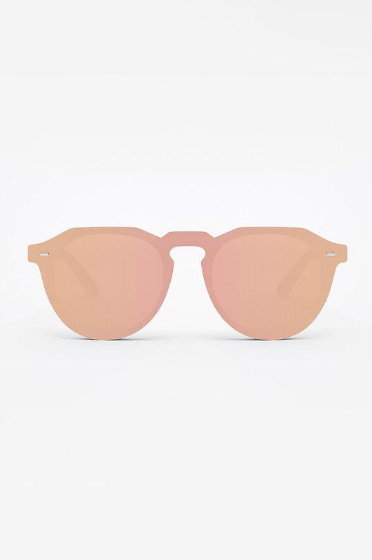 Hawkers - Okulary ROSE GOLD WARWICK HYBRID koralowy