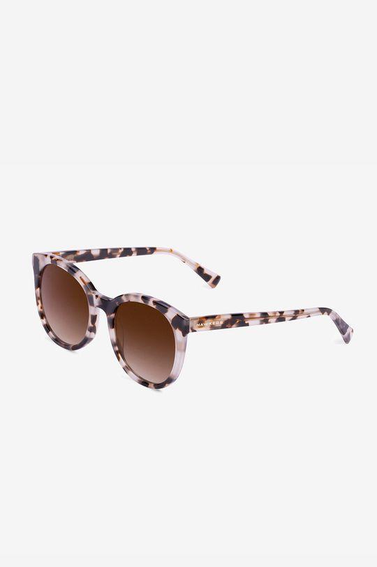 brązowy Hawkers - Okulary przeciwsłoneczne LEO BROWN RESORT Damski