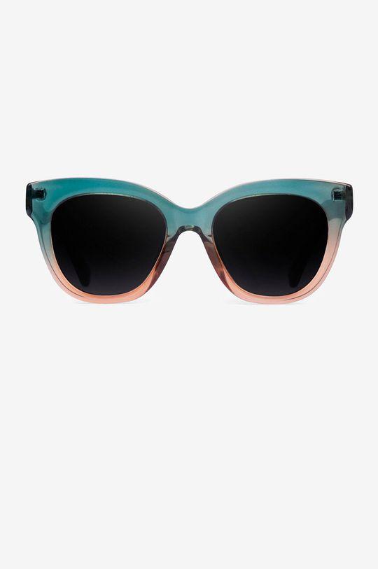 Hawkers - Okulary przeciwsłoneczne GREEN CHAMPAGNE AUDREY ciemny zielony