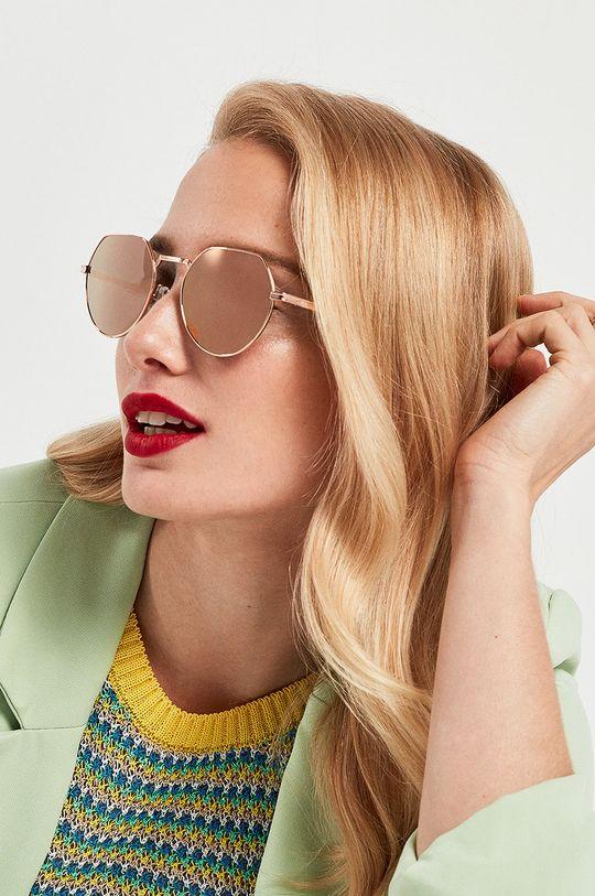 staroružová Hawkers - Slnečné okuliare AURA - ROSE GOLD