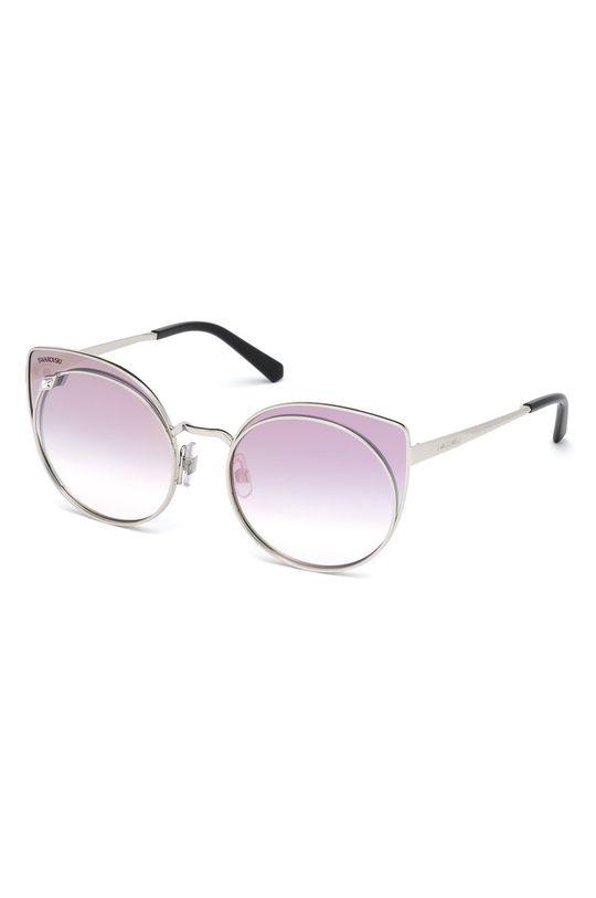 szary Swarovski - Okulary przeciwsłoneczne Damski