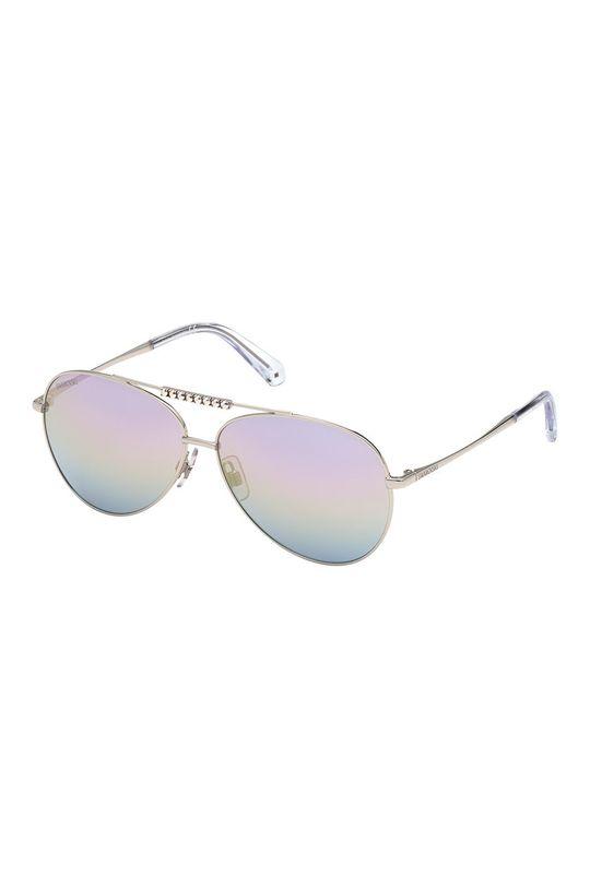 purpurowy Swarovski - Okulary przeciwsłoneczne Damski