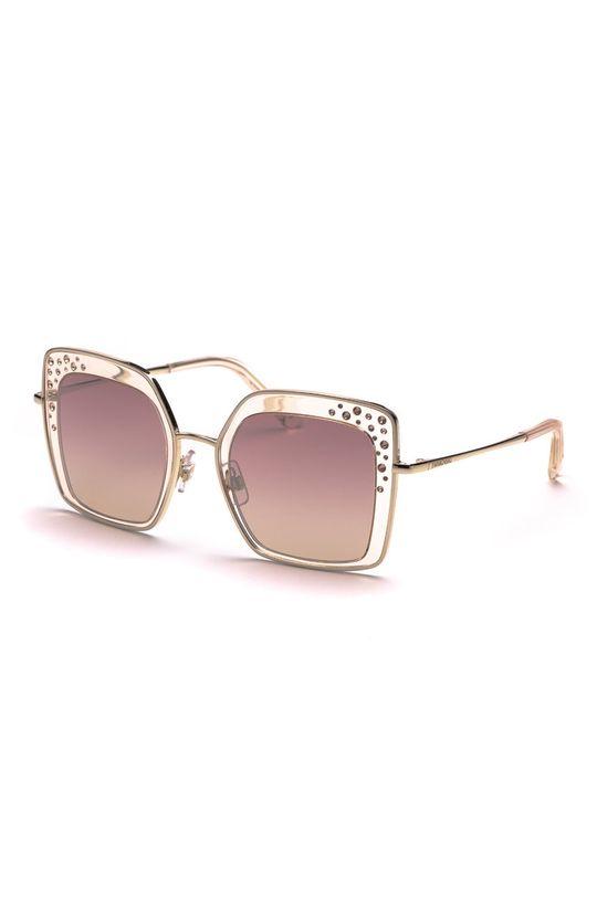 beżowy Swarovski - Okulary przeciwsłoneczne Damski