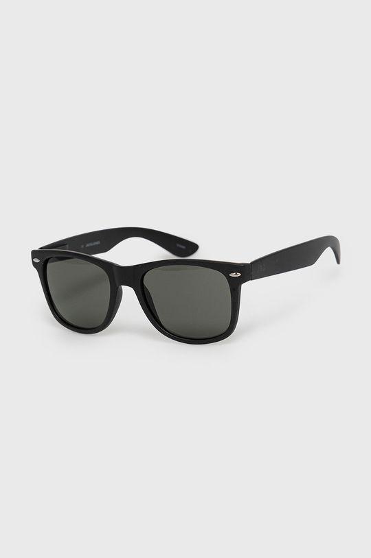 czarny Jack & Jones - Okulary przeciwsłoneczne Męski