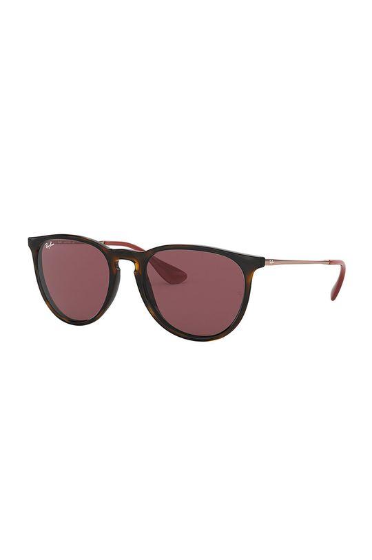 brązowy Ray-Ban - Okulary Erika Unisex