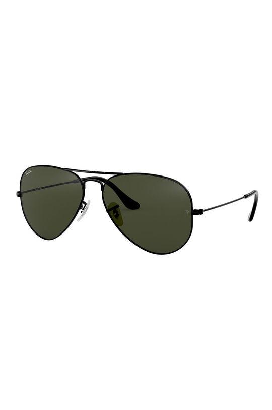 brudny zielony Ray-Ban - Okulary 0RB3025.L2823.58 Unisex