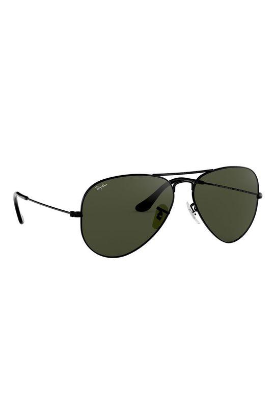 Ray-Ban - Okulary 0RB3025.L2823.58 Metal, Szkło,