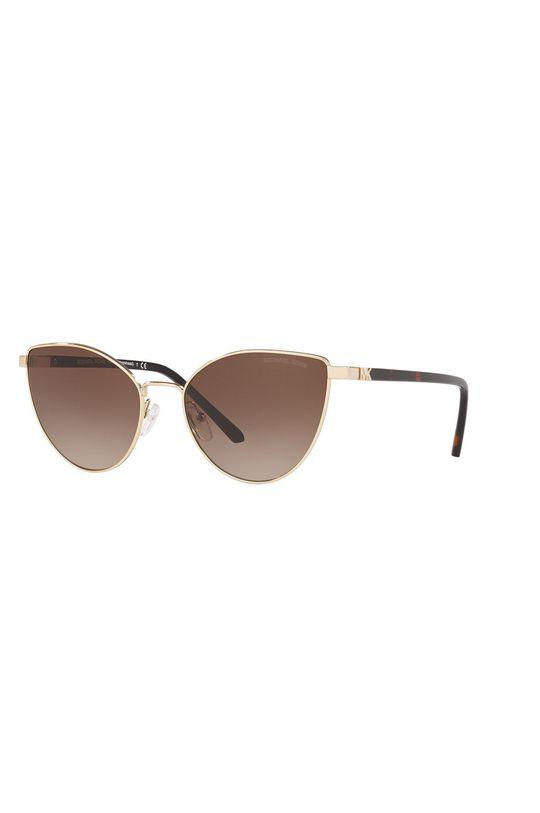 czarny Michael Kors - Okulary przeciwsłoneczne 0MK1052 Unisex