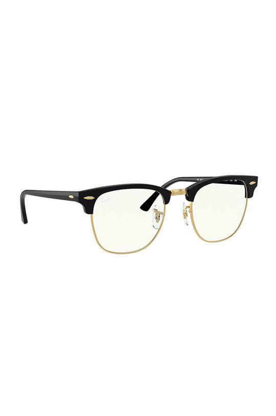 Ray-Ban - Okulary CLUBMASTER Materiał syntetyczny