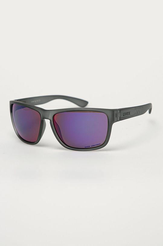 szary Uvex - Okulary przeciwsłoneczne Lgl 35 CV Unisex