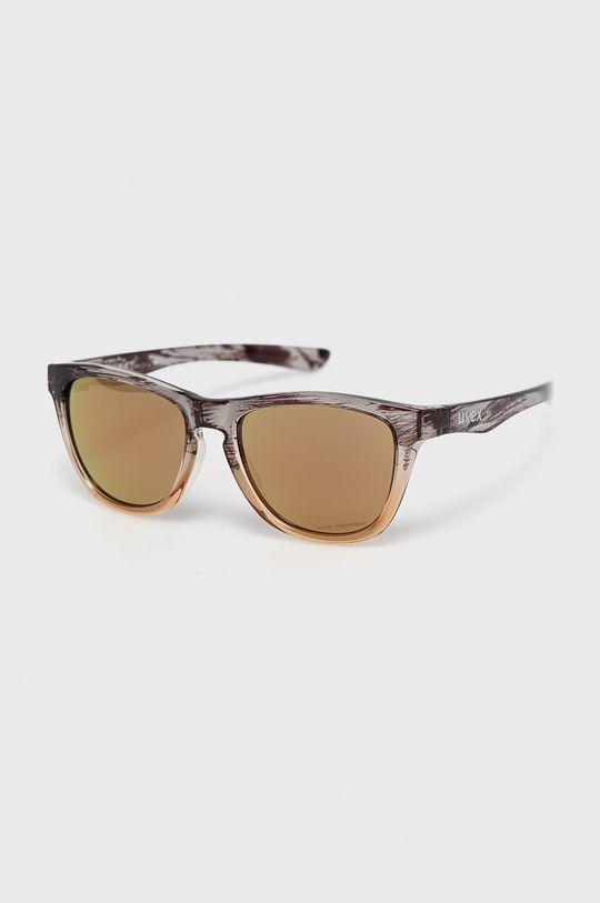 piaskowy Uvex - Okulary przeciwsłoneczne LGL 48 CV Unisex