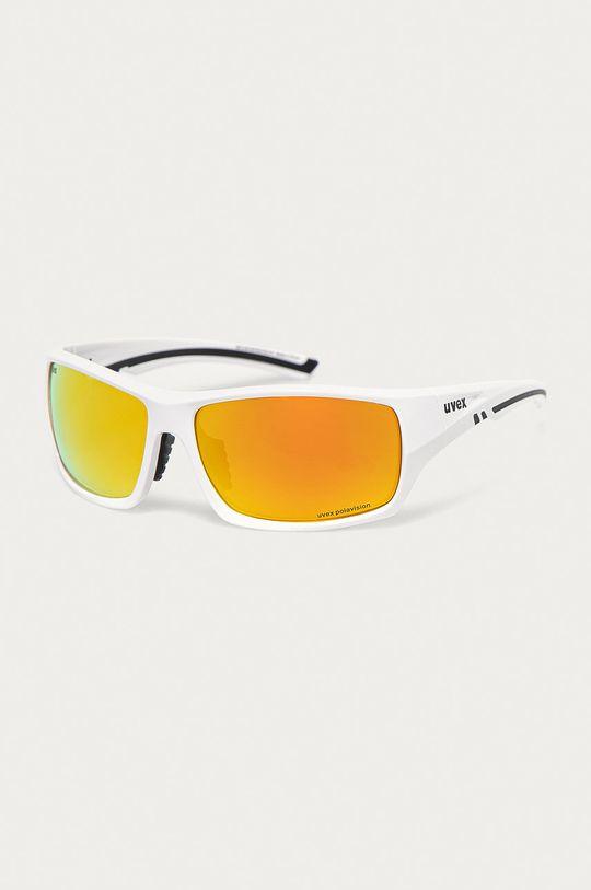 biały Uvex - Okulary przeciwsłoneczne Sportstyle 222 Unisex