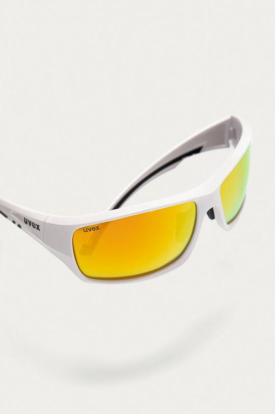 biały Uvex - Okulary przeciwsłoneczne Sportstyle 222