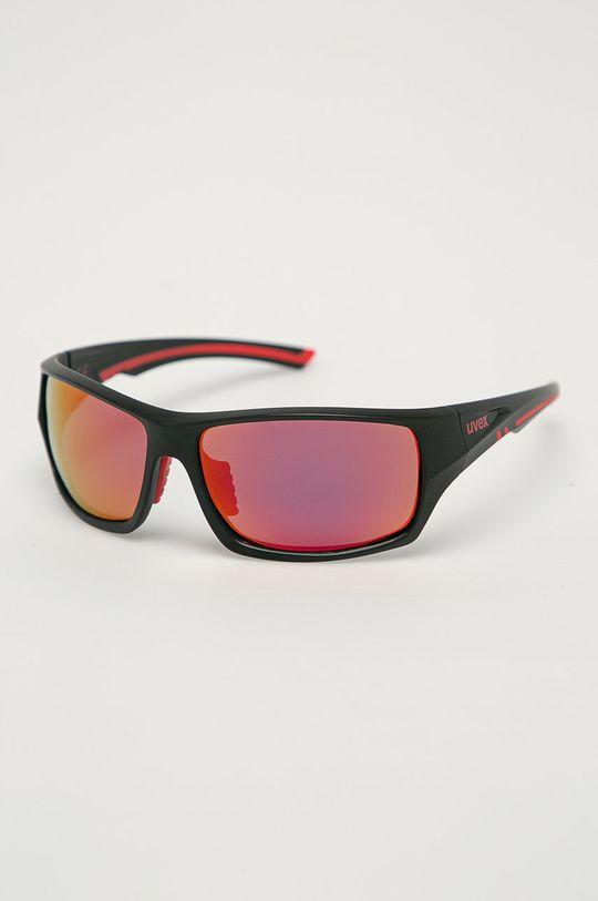 czerwony Uvex - Okulary przeciwsłoneczne Sportstyle 222 Unisex