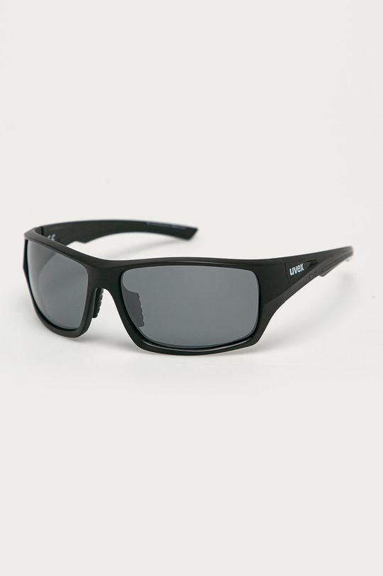 czarny Uvex - Okulary przeciwsłoneczne Sportstyle 222 Unisex
