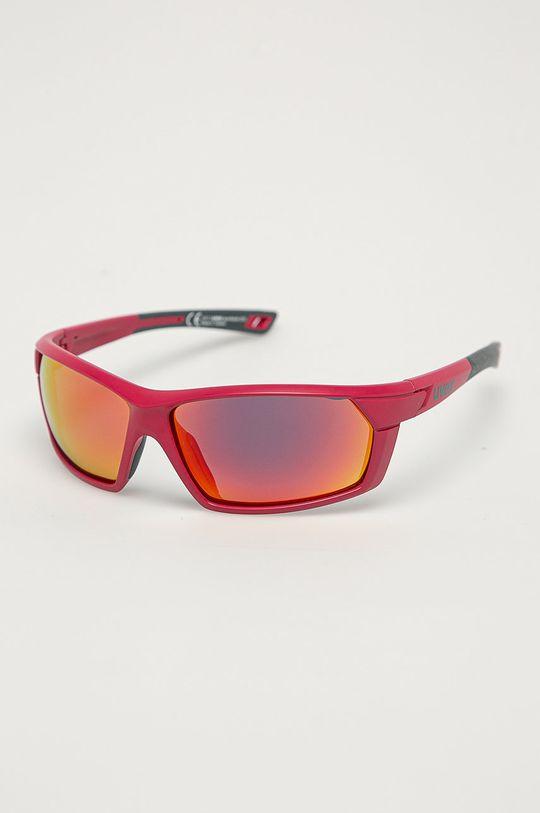 różowy Uvex - Okulary przeciwsłoneczne Sportstyle 225 Unisex