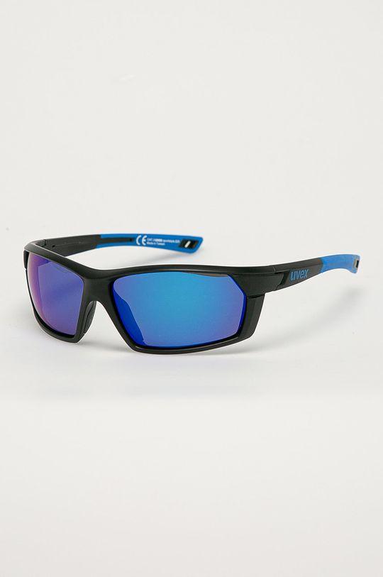 niebieski Uvex - Okulary przeciwsłoneczne Sportstyle 225 Unisex