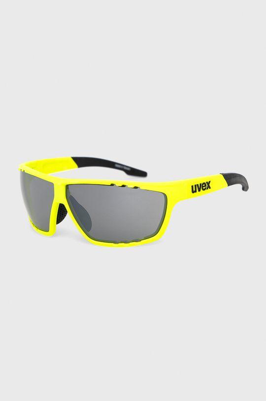 žlutě zelená Uvex - Sluneční brýle Sportstyle 706 Unisex
