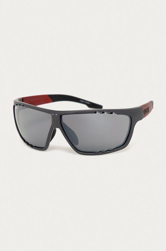 szary Uvex - Okulary przeciwsłoneczne Sportstyle 706 Unisex