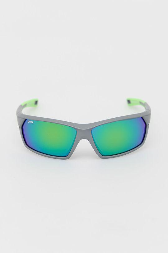 Uvex - Okulary przeciwsłoneczne Sportstyle 225 ostry zielony