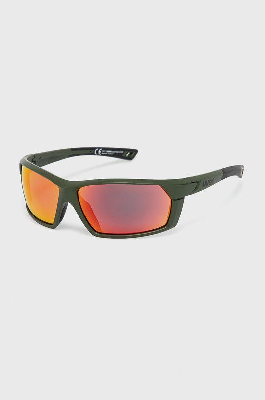 oliwkowy Uvex - Okulary przeciwsłoneczne Sportstyle 225 Unisex