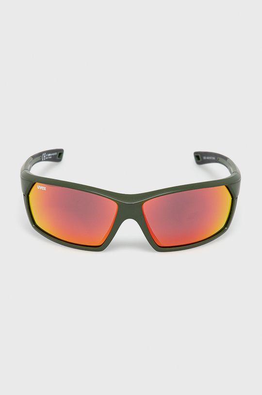 Uvex - Okulary przeciwsłoneczne Sportstyle 225 oliwkowy
