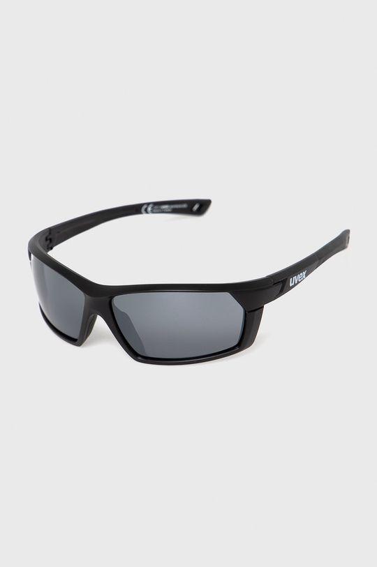 czarny Uvex - Okulary przeciwsłoneczne Sportstyle 225 Unisex