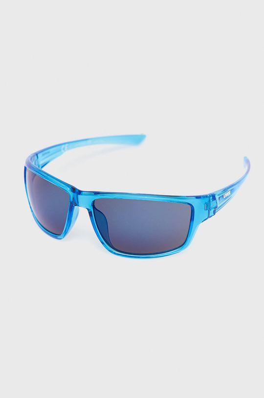 niebieski Uvex - Okulary przeciwsłoneczne Unisex