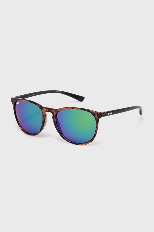 czarny Uvex - Okulary Lgl 43 Unisex