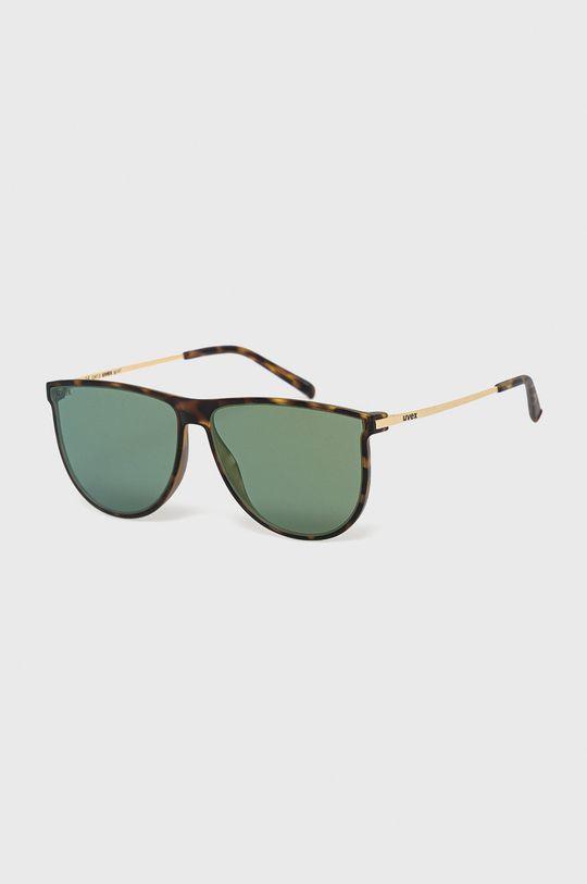 zlatohnedá Uvex - Slnečné okuliare LGL 47 Unisex