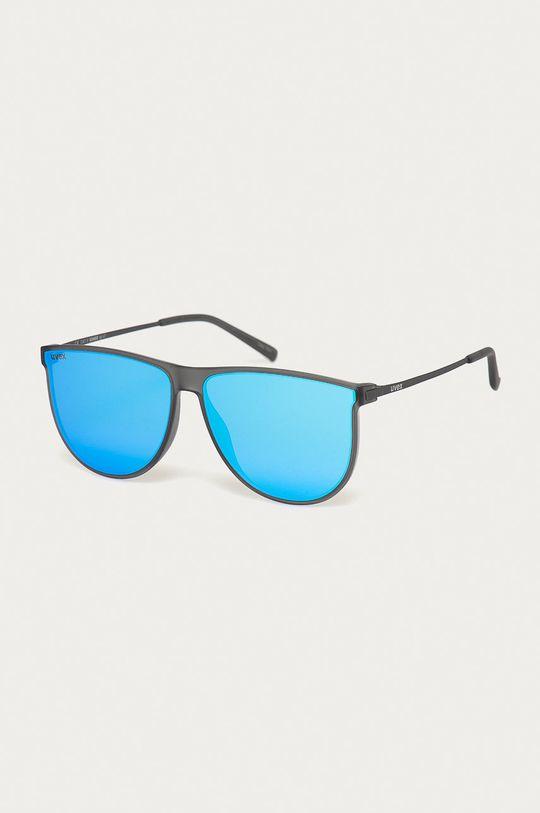 szary Uvex - Okulary przeciwsłoneczne LGL 47 Unisex
