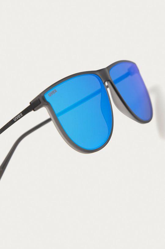 Uvex - Okulary przeciwsłoneczne LGL 47 Materiał syntetyczny, Metal