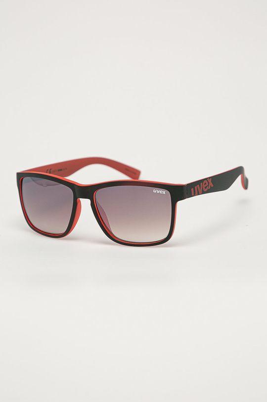 czerwony Uvex - Okulary przeciwsłoneczne LGL 39 Unisex