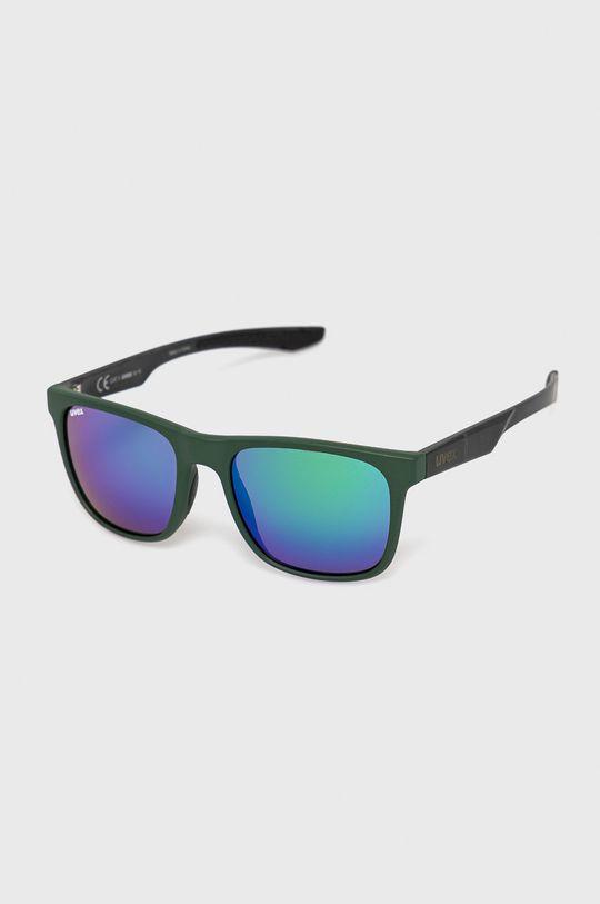 zielony Uvex - Okulary przeciwsłoneczne LGL 42 Unisex