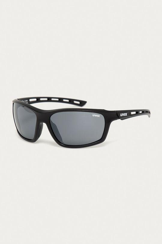czarny Uvex - Okulary przeciwsłoneczne Sportstyle 229 Unisex