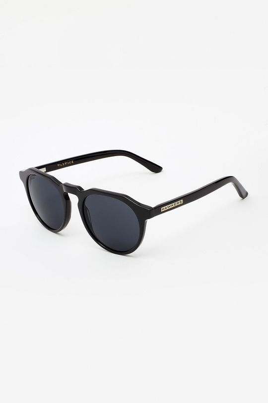 czarny Hawkers - Okulary BLACK DARK WARWICK Unisex