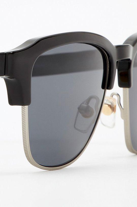 Hawkers - Okulary przeciwsłoneczne DIAMOND BLACK DARK CLASSIC Materiał syntetyczny