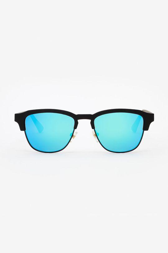 Hawkers - Okulary przeciwsłoneczne RUBBER BLACK CLEARBLUE CLASSIC morski