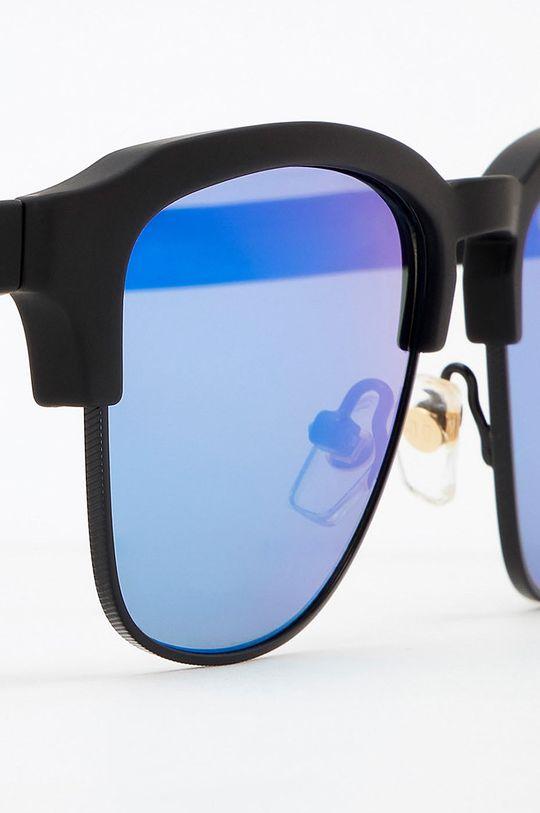 Hawkers - Okulary przeciwsłoneczne RUBBER BLACK CLEARBLUE CLASSIC Materiał syntetyczny