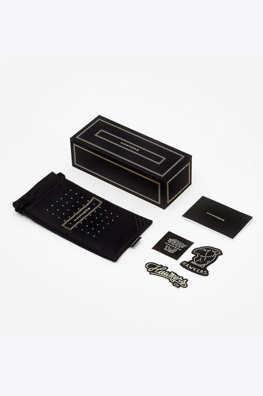 Hawkers - Okulary przeciwsłoneczne RUBBER BLACK CLEARBLUE CLASSIC Unisex