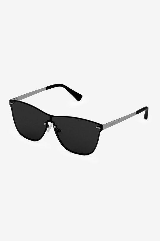 czarny Hawkers - Okulary przeciwsłoneczne ONE VENM METAL DARK Unisex