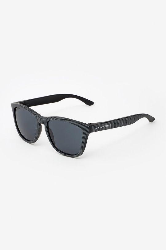 czarny Hawkers - Okulary przeciwsłoneczne CARBONO DARK ONE Unisex