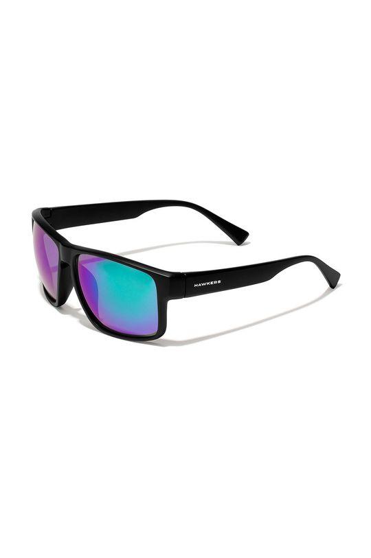 czarny Hawkers - Okulary przeciwsłoneczne BLACK EMERALD FASTER Unisex