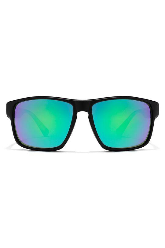 Hawkers - Okulary przeciwsłoneczne BLACK EMERALD FASTER czarny