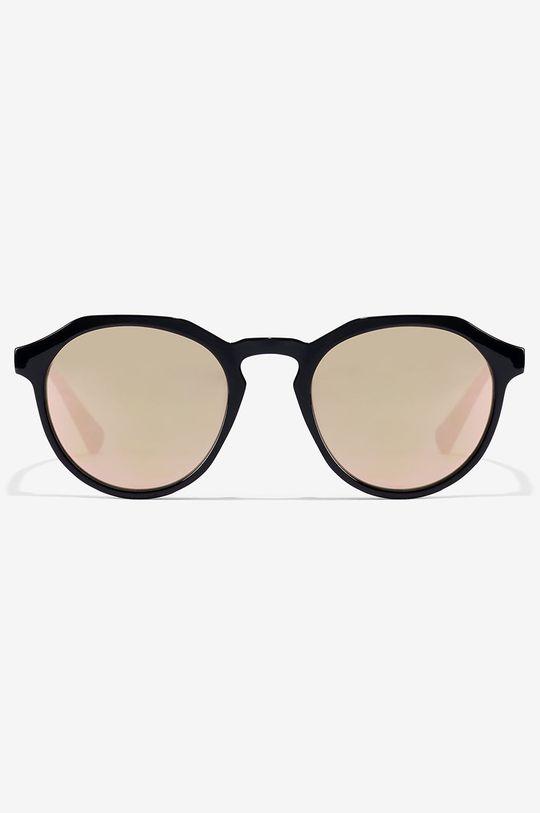 Hawkers - Slnečné okuliare BLACK ROSE GOLD WARWICK XS čierna